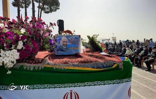 نخستین تصویر از مراسم تشییع پیکر سردار حجازی