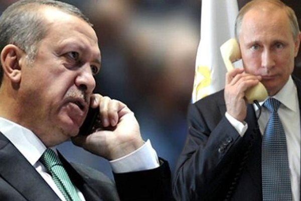 رایزنی پوتین و اردوغان درباره آتشبس قرهباغ