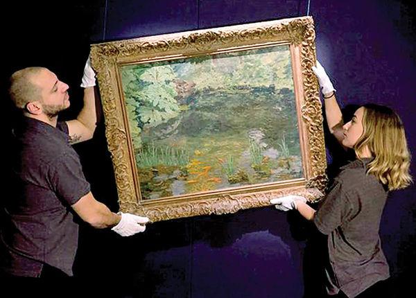 حراج آخرین نقاشی «چرچیل» به قیمت 80 هزار پوند