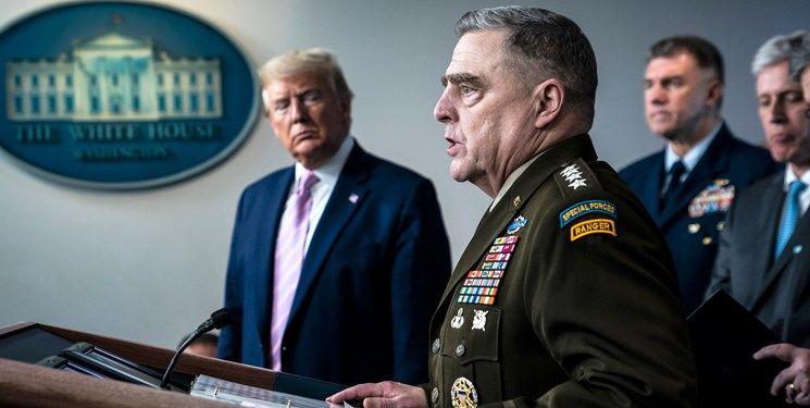فرمانده آمریکایی: ترامپ قصد حمله نظامی به چین نداشت