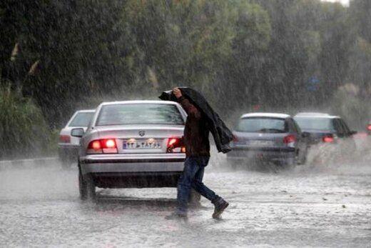 رگبار و وزش باد شدید در چند استان کشور