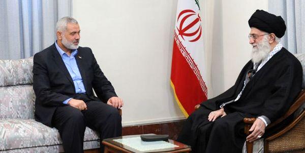 پیام اسماعیل هنیه برای رهبر معظم انقلاب اسلامی ایران