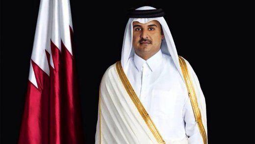 پیام مکتوب امیر قطر به اشرف غنی