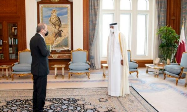 دیدار وزیر خارجه اردن با امیر قطر