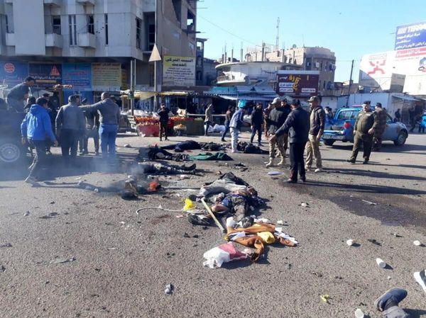 داعش مسئولیت انفجارهای عراق را بر عهده گرفت