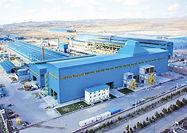 ثبت رکورد جدید تولید در مجتمع فولاد صنعت بناب