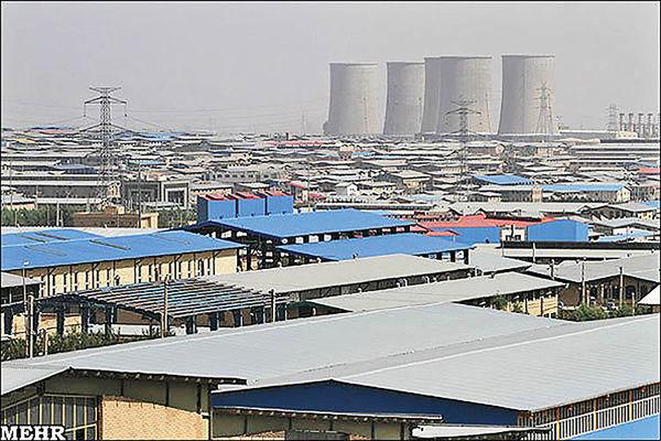 شارژ زیرساختهای صنعتی قزوین