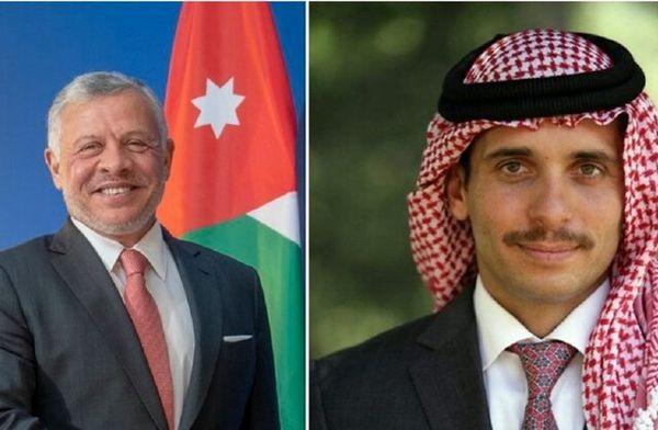 پیام پادشاه اردن به مردم کشورش درپی کودتای نافرجام