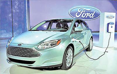 باتریهای فورد برای خودروهای برقی
