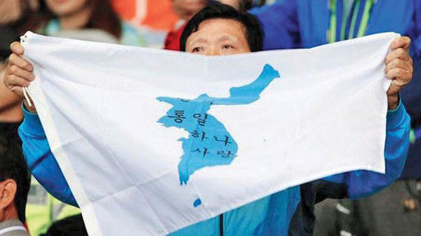 خشم ژاپن ازاتحاد دو کره در المپیک