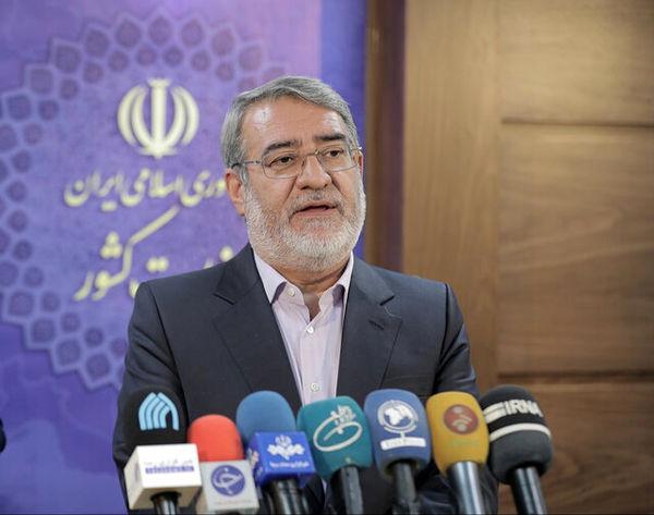 وزیر کشور: اطلس امنیت انتخابات تهیه می شود