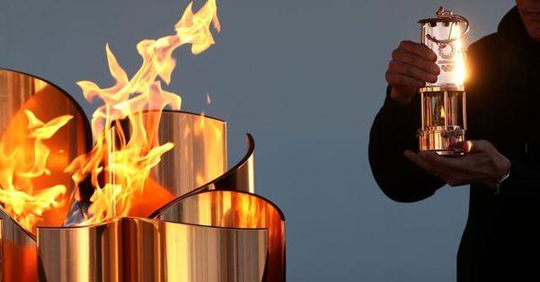 ورود مشعل المپیک به توکیو در بحبوحه شیوع کرونا