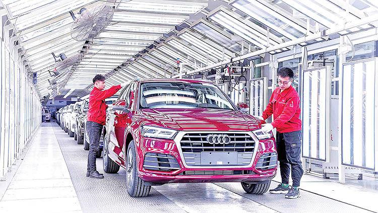 چین در پی خودکفایی فنی خودرو