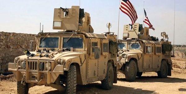 دهها خودروی زرهی آمریکا وارد عراق شدند
