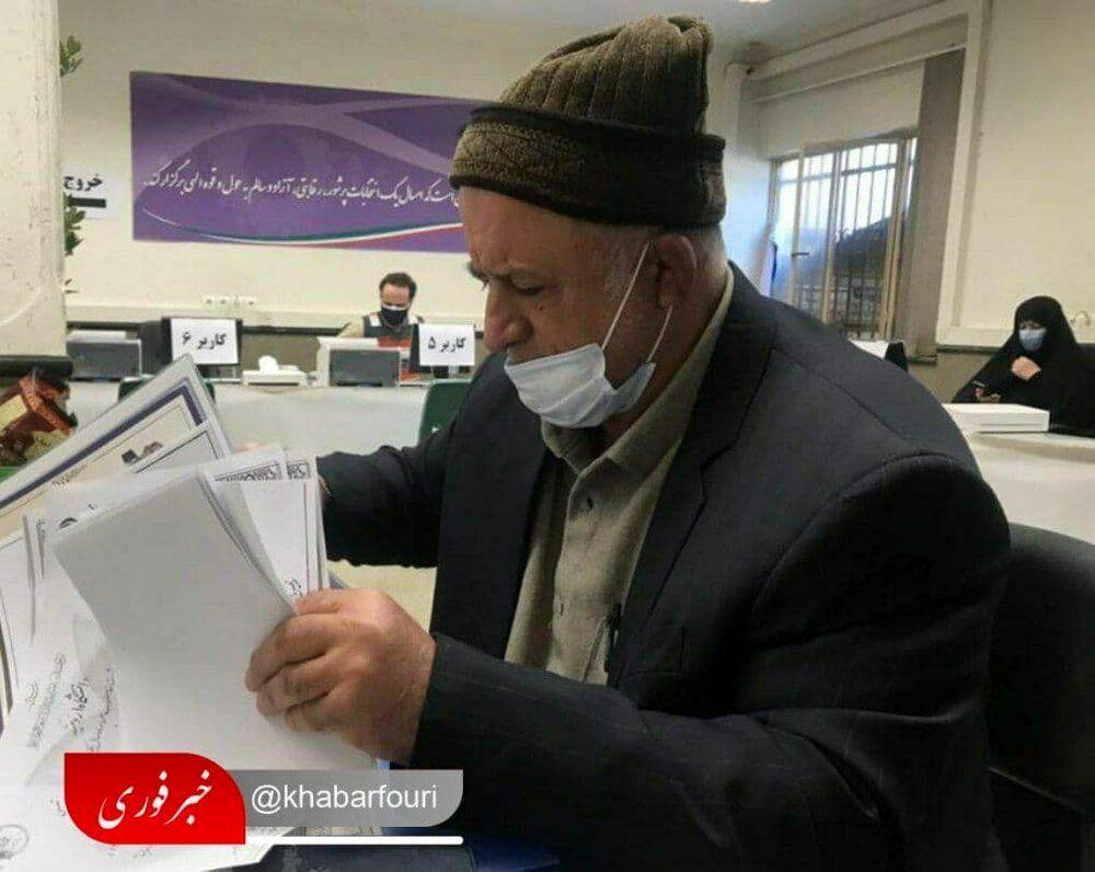 نادر قاضیپور از تهران کاندیدای مجلس شد