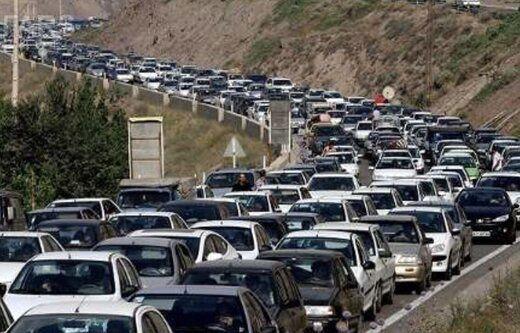 این جاده ها ترافیک سنگین دارند