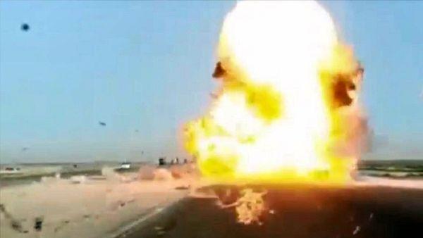 حمله به سومین کاروان لجستیکی آمریکا در عراق