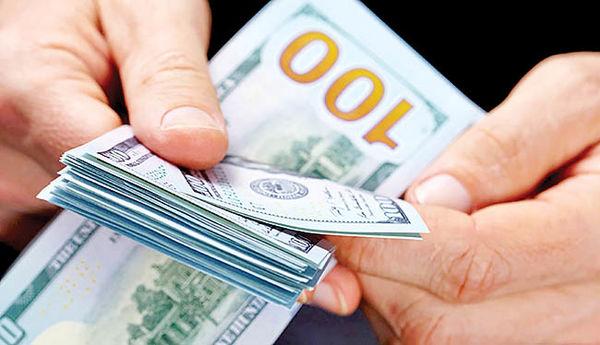 دو پرده از رشد دلار