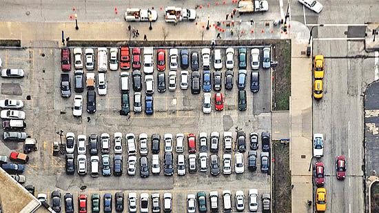 جستوجوی هوشمندانه جای پارک خودرو
