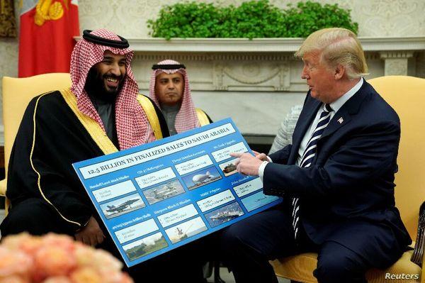 ترامپ:۲.۵ تریلیون دلار برای ساخت تجهیزات نظامی سرمایهگذاری شد