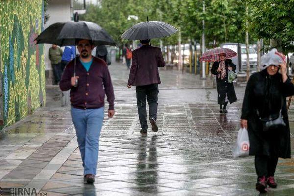 هشدار بارش شدید باران در سه استان کشور