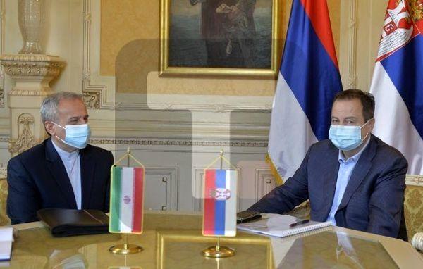 حضور رئیس مجلس صربستان در مراسم تحلیف رئیسی