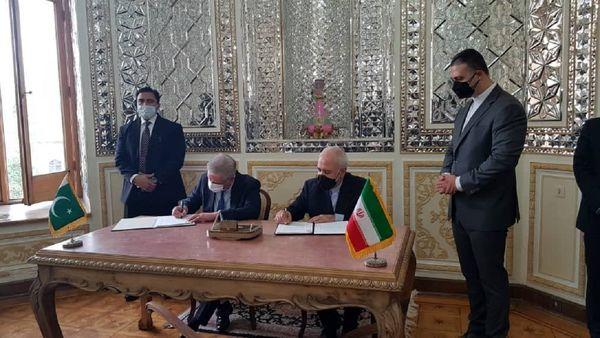 امضای تفاهم همکاری میان ایران و پاکستان