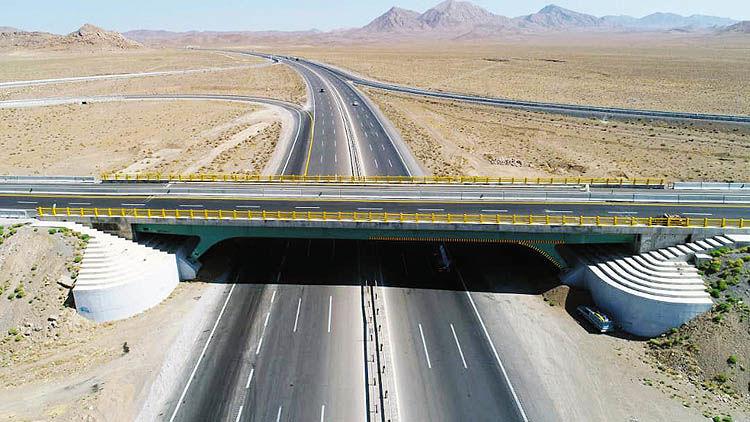 بهره برداری از پروژه عظیم آزاد راه شرق سپاهان در سال جهش تولید
