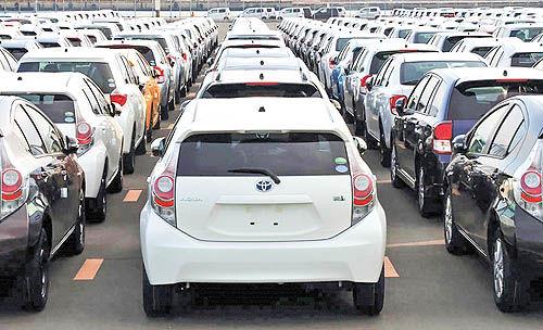 افت فروش خودروسازان ژاپنی