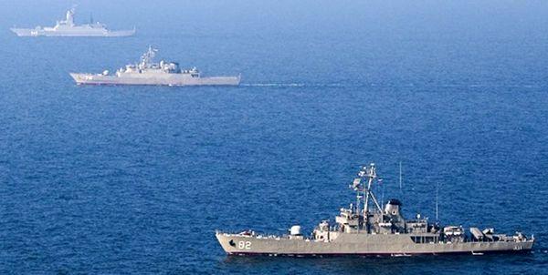 پایان رزمایش دریایی ایران و روسیه در شمال اقیانوس هند