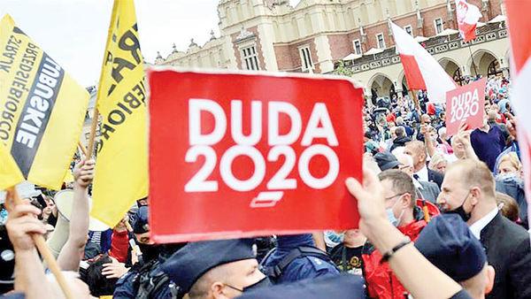 انتخابات لهستان دو مرحلهای شد