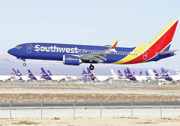هشدار خطوط هوایی ساوت وست درخصوص ویروس کووید نوع دلتا