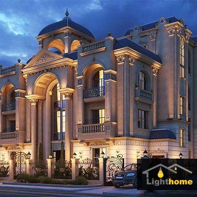 نورپردازی نمای ساختمان؛ بایدها و نبایدها