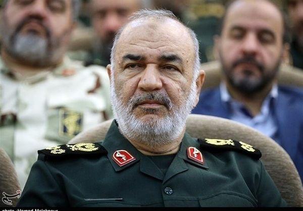 سردار سلامی: با یک عملیات می توان اسرائیل را نابود کرد