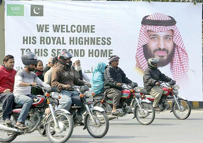 دیدار طالبان با محمد بنسلمان