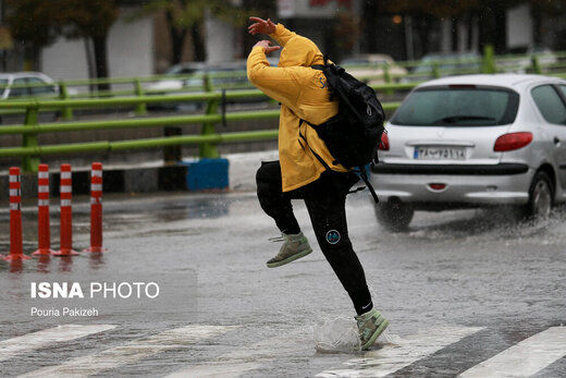 هوای 7 استان کشور بارانی می شود