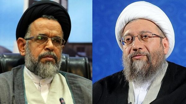 پیام تسلیت آملی لاریجانی در پی درگذشت پدر وزیر اطلاعات