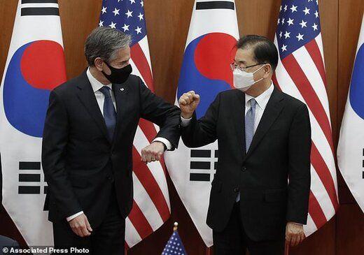 بلینکن: گزینههای فشار و دیپلماتیک برای رویارویی با کره شمالی روی میز است