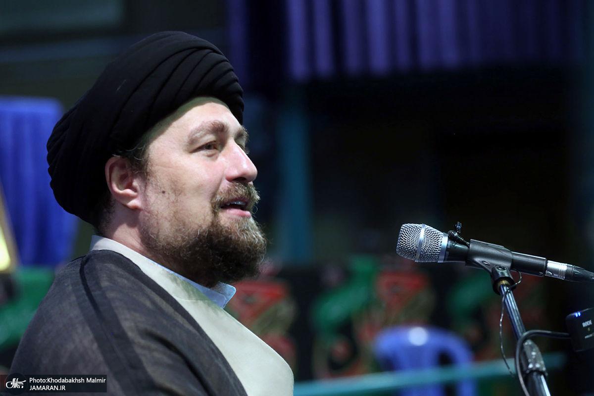 مراسم شام شهادت امام رضا(ع) و بزرگداشت علامه حکیمی در حسینیه جماران-2