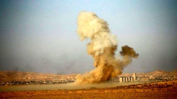 حمله موشکی نزدیک اردوگاه نظامیان ترکیه