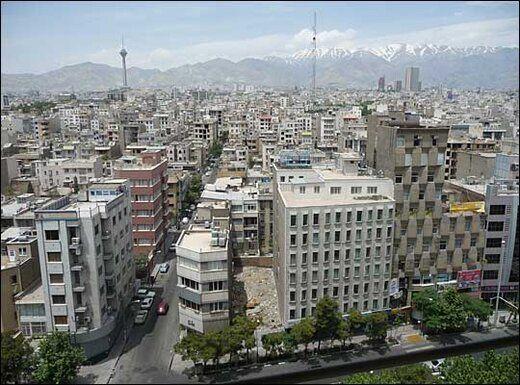 قیمت خانه های 5 تا 10 ساله در محلات مختلف تهران