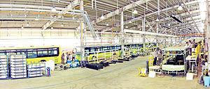 تلاش برای داخلی سازی اتوبوس و مینی بوس