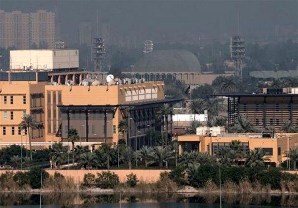 حمله پهپادی و راکتی به سفارت آمریکا در بغداد