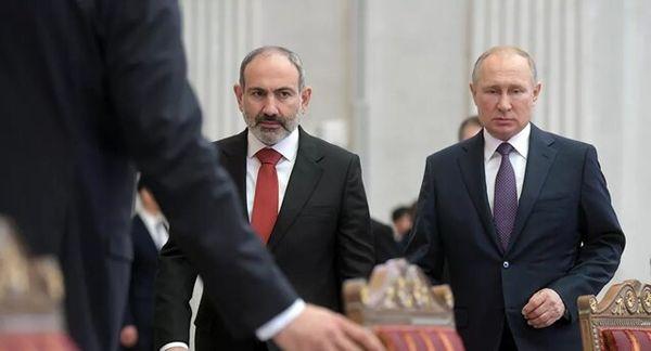 مذاکرات پوتین، علیاف و پاشینیان در مسکو