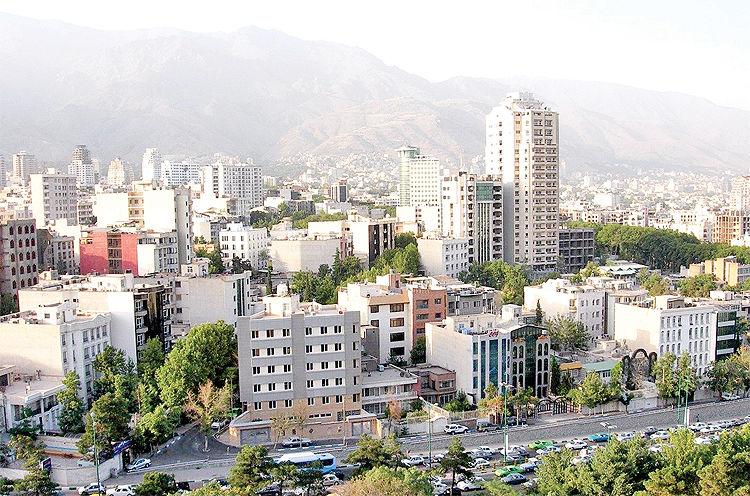 نقشه تغییر تهران دوقطبی