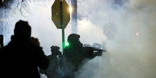 درگیری ها در آمریکا پس از تحلیف بایدن+ تصاویر