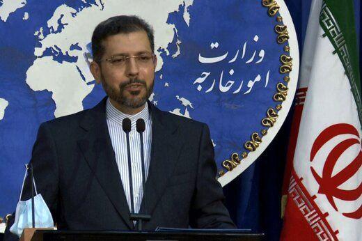 خطیبزاده: هیچ تغییری در مرزهای ایران رخ نداده است