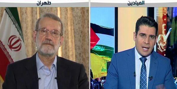 لاریجانی در گفتوگو با المیادین: رقابت جدی در صحنه انتخابات ندیدم