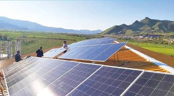 نیروگاه خورشیدی برای عشایر همدان