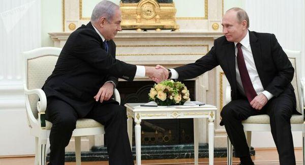 بررسی اوضاع سوریه توسط پوتین و نتانیاهو
